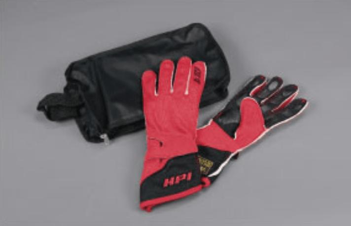 Color: Red & Black - Size: Large - HPCGGL05L