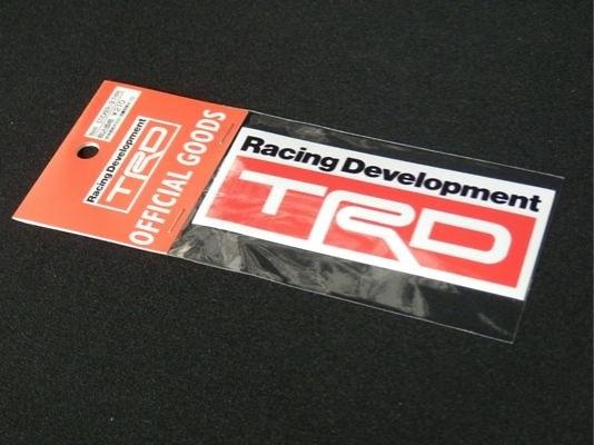 TRD sticker b type 34x90mm - 08231-SP011-B2