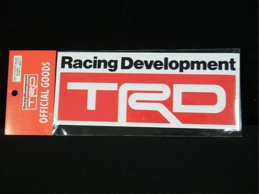 TRD sticker b type 78x190mm - 08231-SP011-B3
