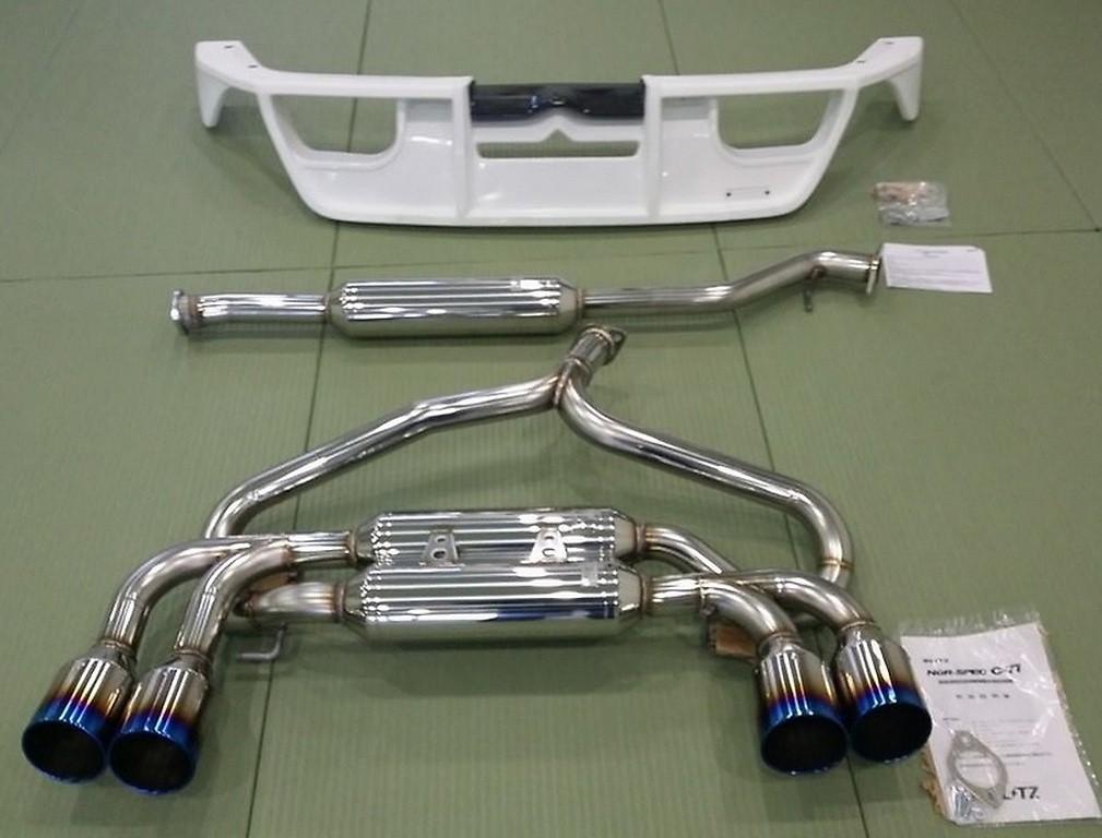 VSR Quad 86/BRZ+ Rear Diffuser for 86/BRZ