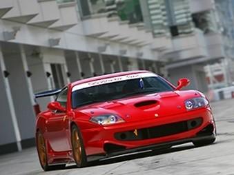 Garage Saurus - Ferrari 550 Maranello