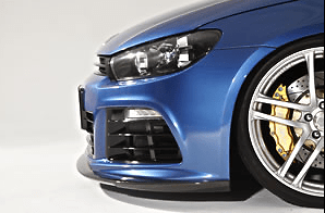 Front Lip Spoiler - Construction: Carbon Fiber - 6421