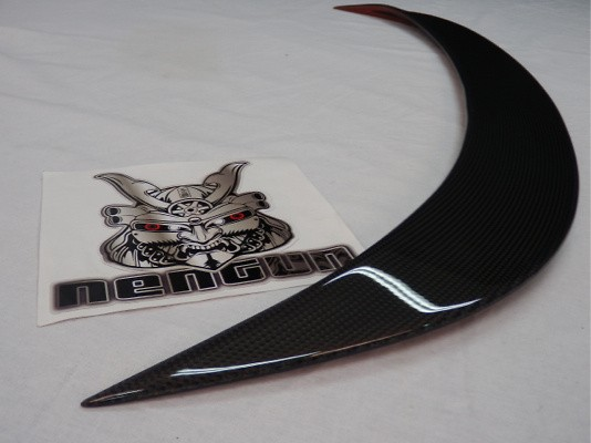 Front Splitter for OEM Bumper - Material: Carbon - 6409