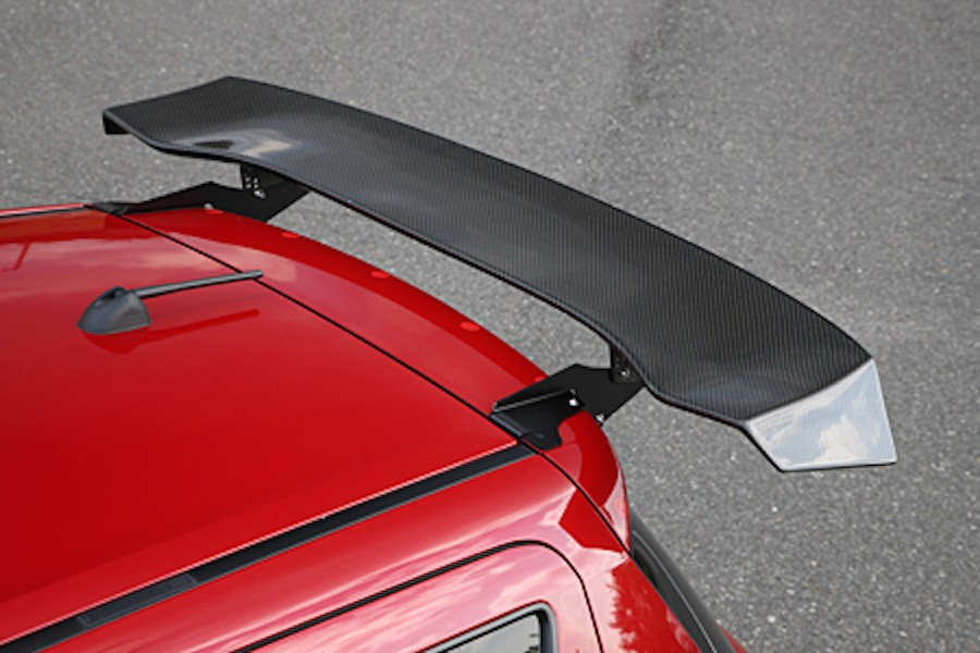 3D GT Wing Type C2 - Construction: Carbon - SLRSA-ZC32S-3DGTWC2