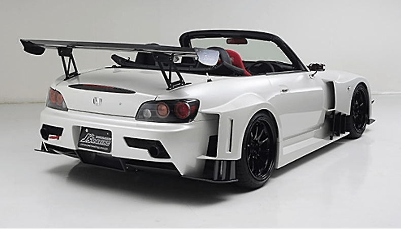 J'S RACING S2000 wide body kit TYPE-GT