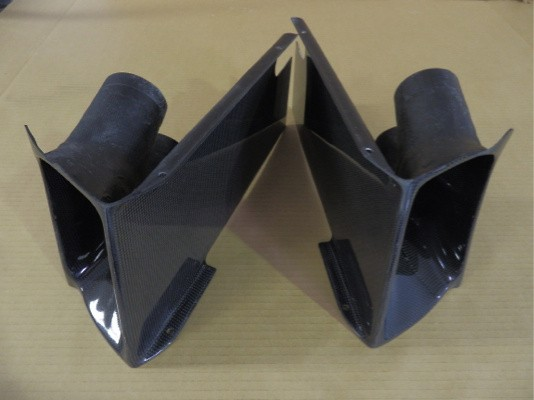 Brake Duct with carbon - GTBDC-S1-C