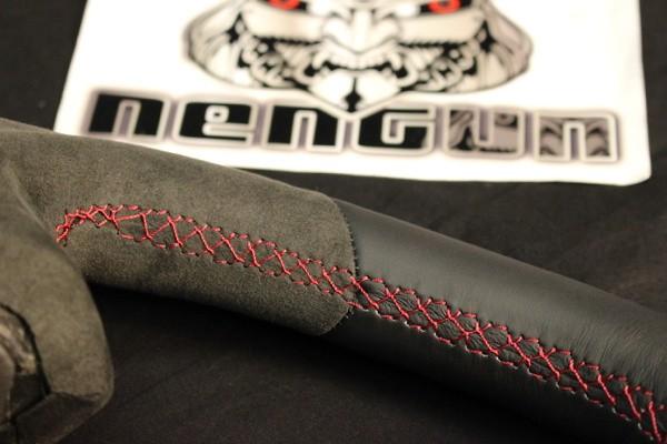 Material: Alcantara - Color: Red Stitching - BNR34
