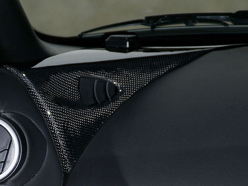Dash Board Corner Panel (Left and Right) - Material: Carbon - INS-Z33-DC-B