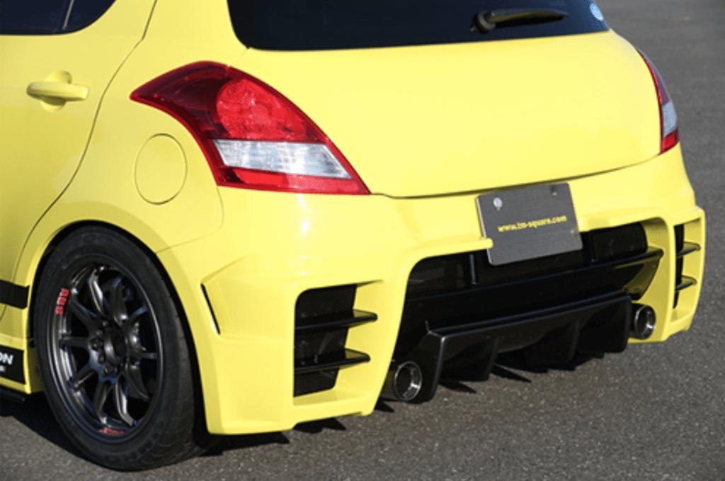 Rear Bumper Diffuser - TMDF-A01401