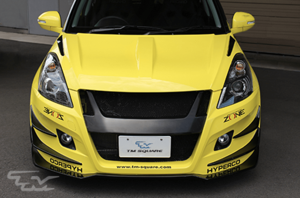 Aero Bonnet - Construction: FRP - Colour: Unpainted - TMDF-A01501