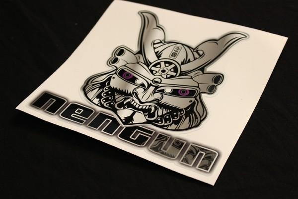 Nengun Mask Sticker Purple Reflective eyes - NMS