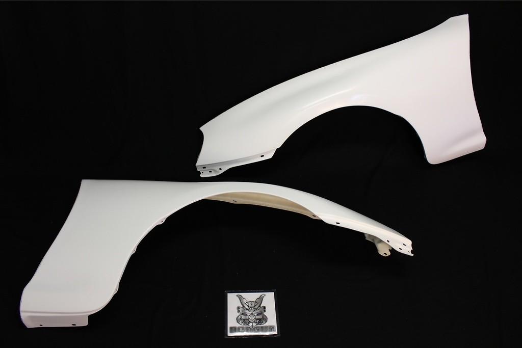 Front Fender Set - Construction: FRP - Colour: Unpainted - RDTO-006