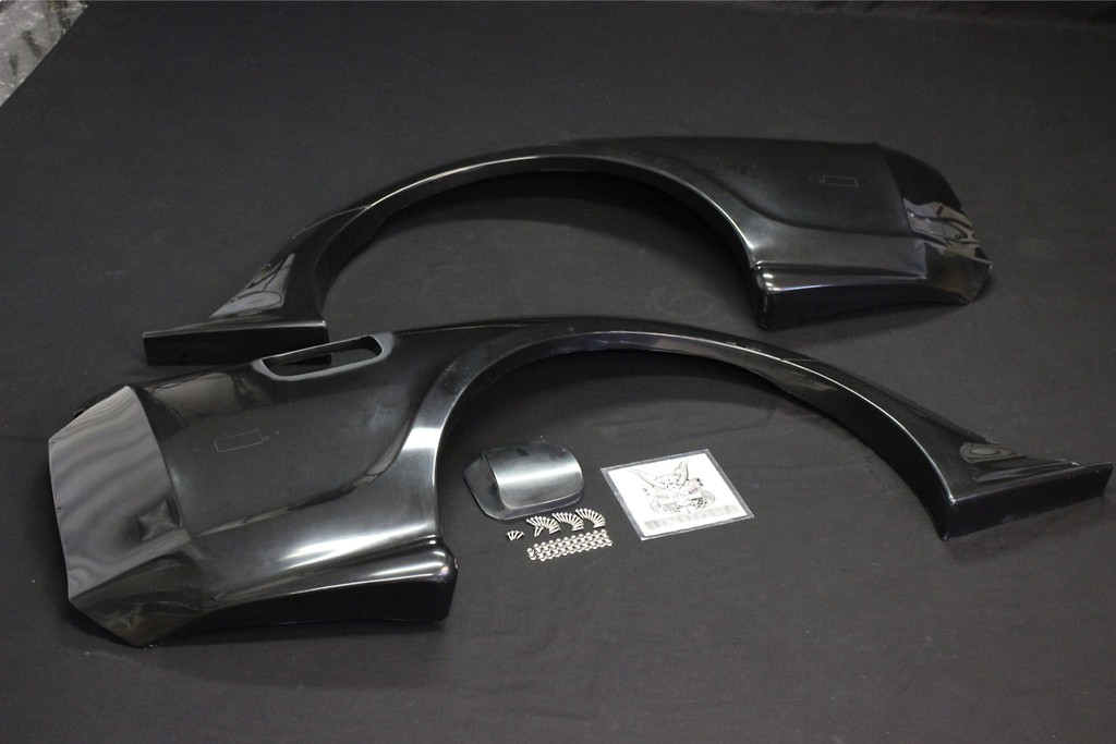 Rear Wide Fender Set - Construction: FRP - RDTO-010