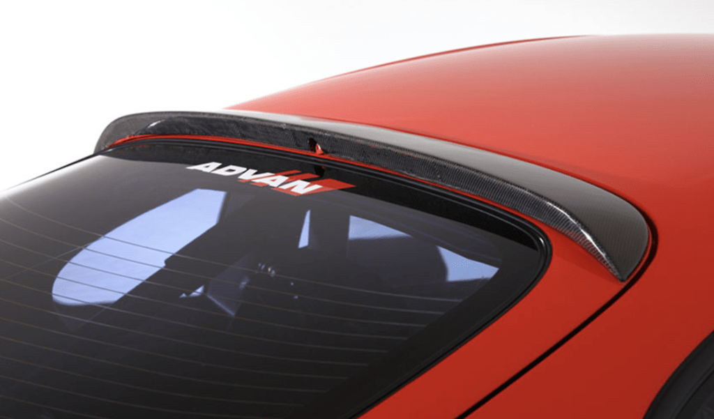 Rear Roof Spoiler - Construction: Carbon - RDTO-005