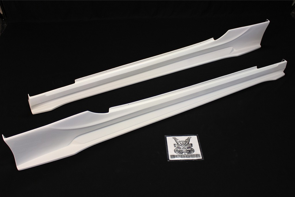 Side Skirts - Right & Left - Construction: FRP - AIMLFS-SS