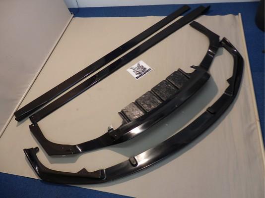 Front Lip Spoiler + Side Splitters + Rear Under Diffuser - Construction: FRP - 3P Set