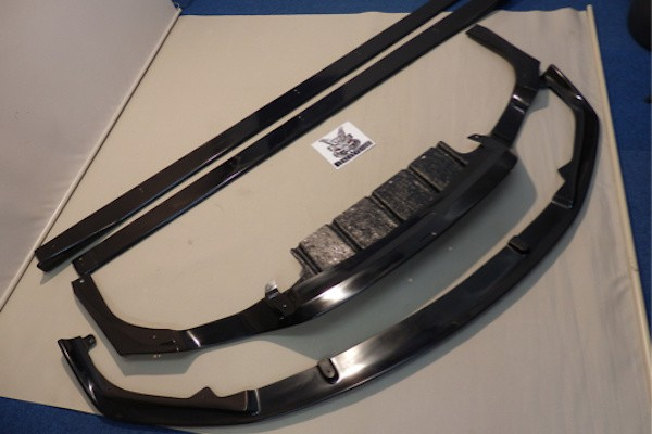 Front Lip Spoiler + Side Splitters + Rear Under Diffuser - Construction: FRP - 3P Set