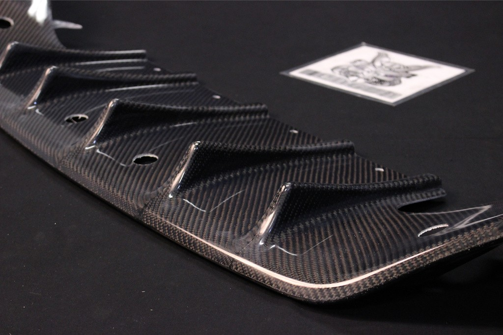 Rear Under Spoiler - Construction: Carbon - RUD-CFRP