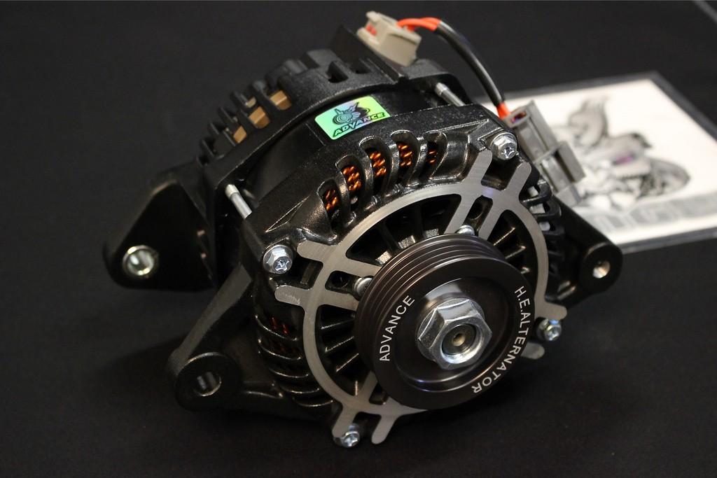 Color: Black - Output: 130A - HE130-011B
