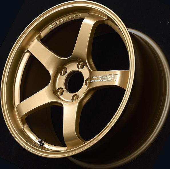 RGP: Racing Gold Metallic + Machine-engraved LOGO