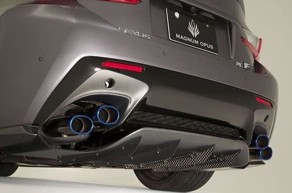 Rear Diffuser system-1 VSDC (For normal bumper of RC F) - VALE-003