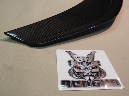 Long Tail Rear Wing Carbon - VALE-007