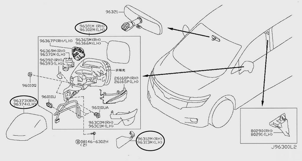 Nissan Oem Parts Elgrand E52 Nengun Performance