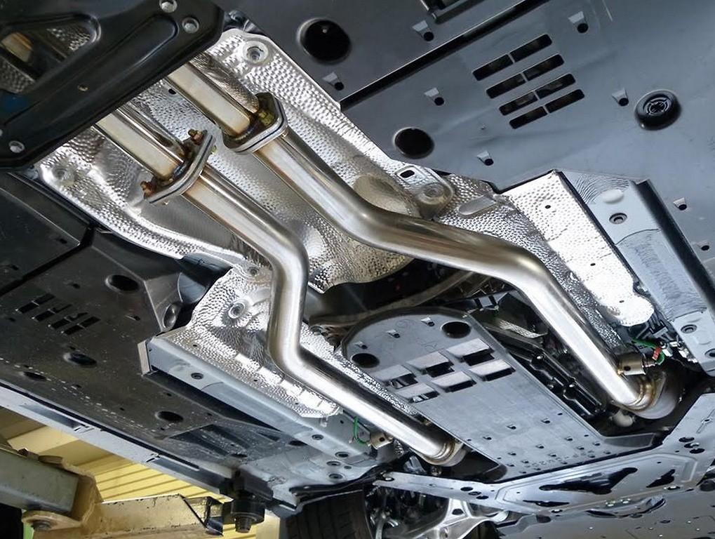 Zee's - Lexus RCF Exhaust System