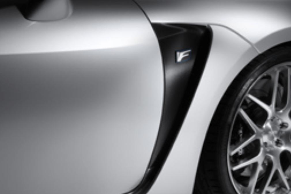 TOM'S - Carbon Trim - Lexus RC-F