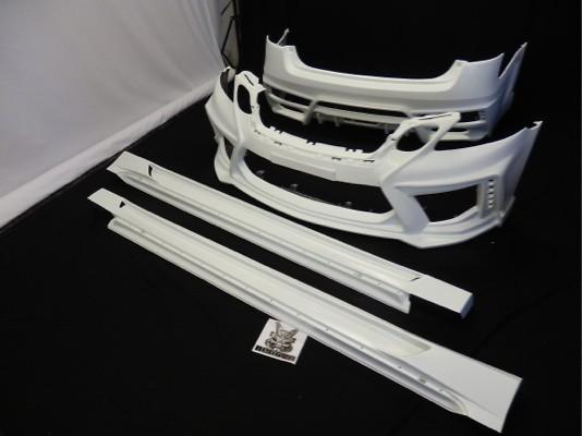 3 Piece Kit: Front + Side + Rear - Construction: FRP - Colour: Unpainted - BPC