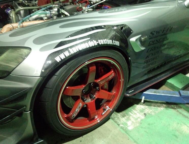 Kurumadoh - Honda S2000 Carbon Wide Fenders