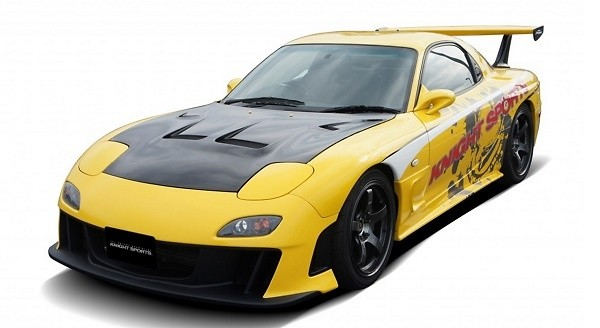 Knight Sports - Front Bumper Spoiler  Type-7 - FD3S