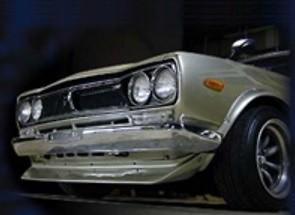 Protech - Nissan Skyline GTR Original Front Bumper Spolier