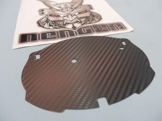 Toyota - Prius - ZVW30 - Emblem Base - Front Carbon - Emblem Base - Front Carbon