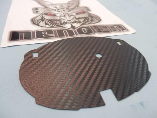 Toyota - Prius - ZVW30 - Emblem Base - Rear Carbon - Emblem Base - Rear Carbon