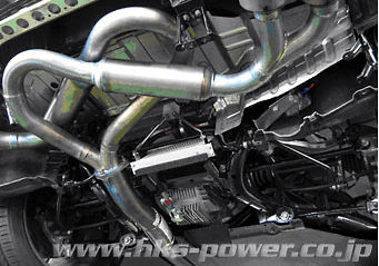 Shown with HKS muffler installed