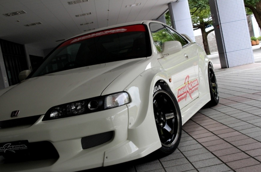 M and M Honda - Hyper Wide Body Kit - Integra DC2