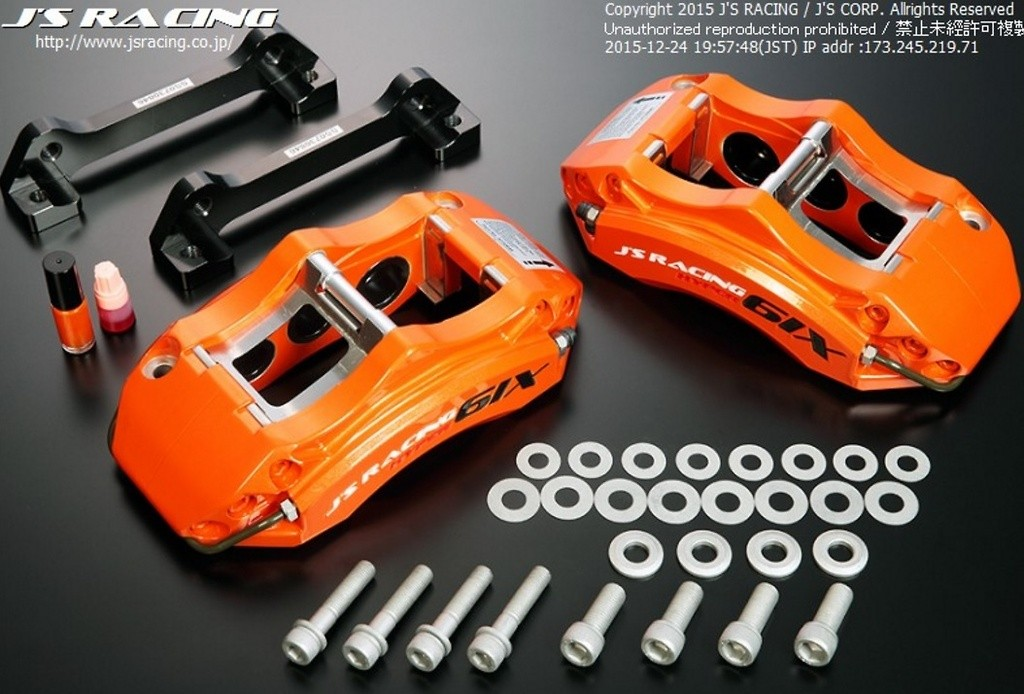 J's Racing - HYPER 6IX 6POT FRONT BRAKE KIT