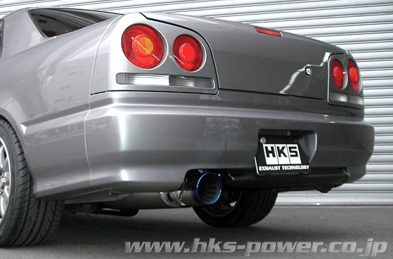 Pieces: 2 - Pipe Size: 75mm - Tail Size: 124mm - Body Type: S304 - Tail Type: SSR (Super Turbo Muffler) - 31029-AN005