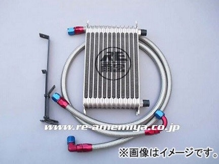RE Amemiya - Oil Cooler Kit - Mazda RX8 SE3P
