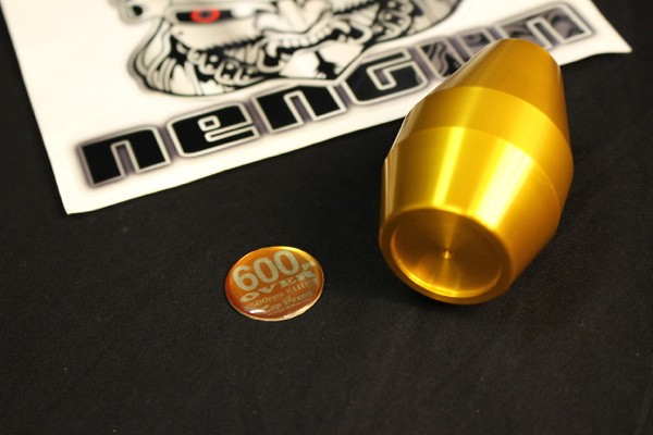 Colour: Gold - Badge: Silver 5SP - Badge: Silver 6SP - Length: Long - Thread: M12x1.25 - LG12