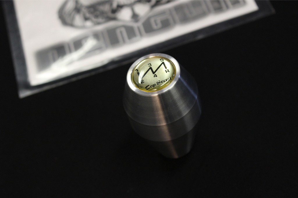 Colour: Silver - Badge: Silver 5SP - Length: Long - Thread: M12x1.25 - LS12S5