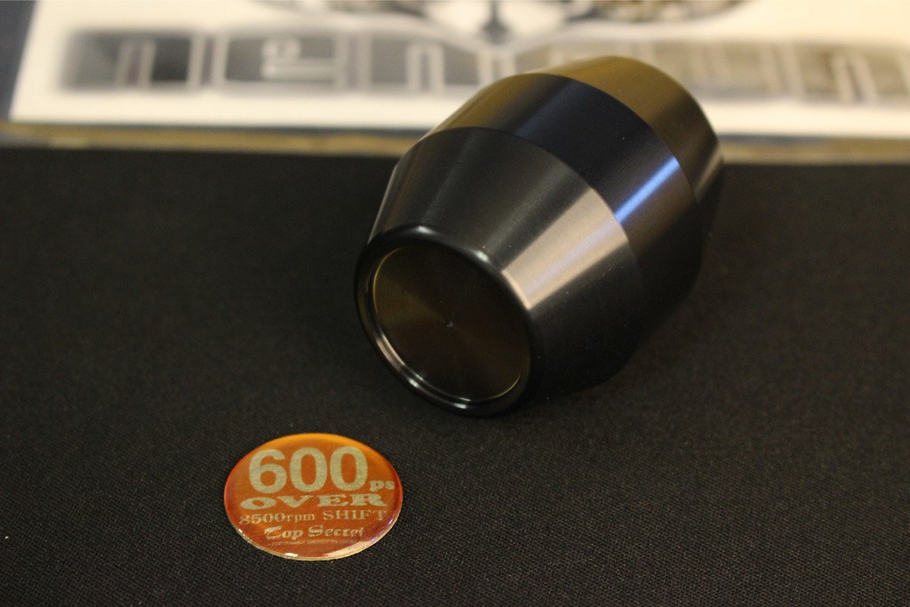 Short Type - Black - M12x1.25 - Gold Badge - SBK12GO