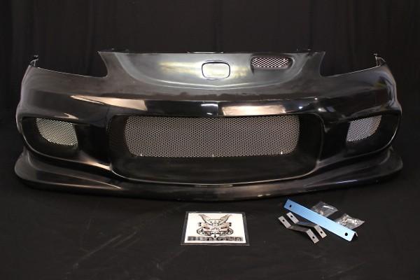 Front Bumper - Construction: Hybrid FRP - Colour: Unpainted - FB Hybrid DC5