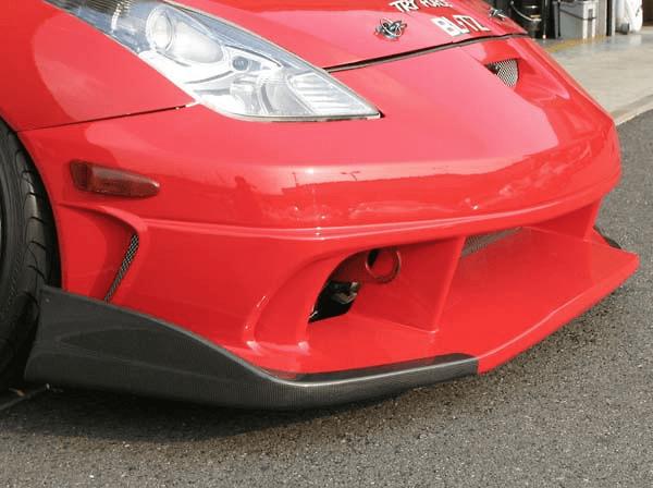 Version 2 - Front Bumper Spoiler + Carbon Bumper Blades