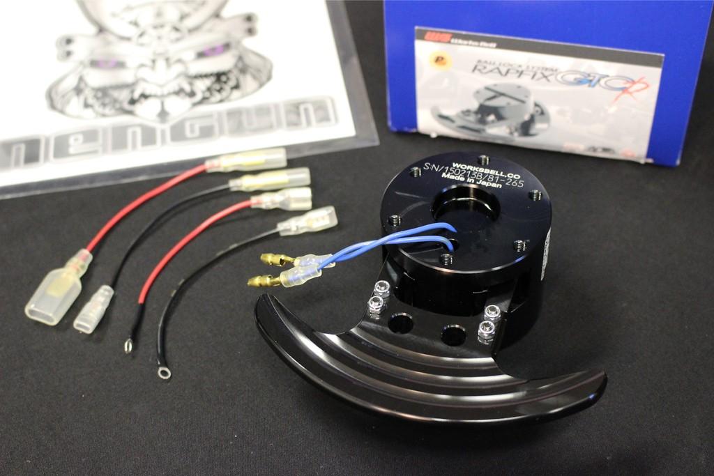 Racing Rapfix Black - GTC-R