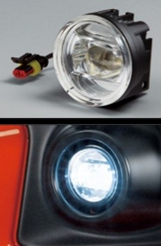Honda Fit GK3, 4, 5, 6, GP5 Option LED Fog Light Attachment - (13G S Package, RS)- (Attachment and H