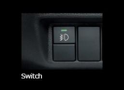 Honda Fit GK3, 4, 5, 6, GP5  - Option LED Fog Light Attachment (13G F Package, 13G L Package, 15XL)-