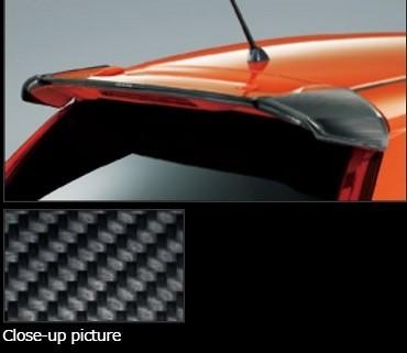Honda Fit GK3, 4, 5, 6, GP5  Carbon Upper Wing (13G S Package, RS) - GP5 (Hybrid S Package) - 84112-