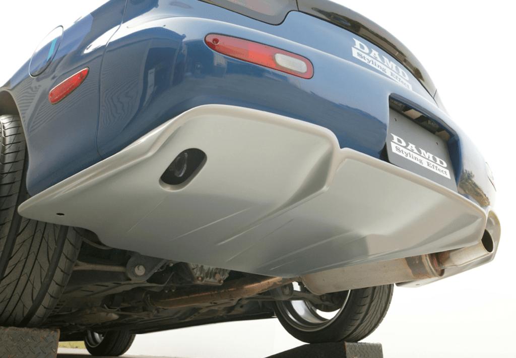 Rear Flat bottom Diffuser (unpainted) - RFBD